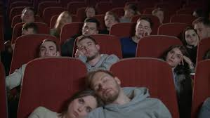 Image result for bored movie watcher