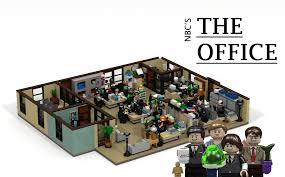 lego office building. the office us lego building