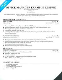 Sample Resume For Medical Office Assistant Stunning Resume Examples For Medical Office Specialist With Medical Office