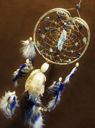 Dream Catcher With Crystals Custom Dream Catcher Kyanite Crystal Blue Vibrations 9