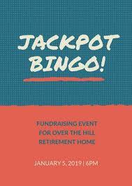 Bingo Fundraiser Flyer Template - Balkan24 #13726Da25F3B