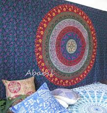 small wall tapestry multi six color