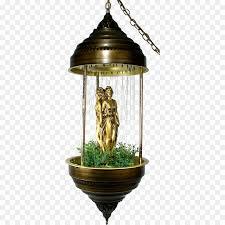 oil lamp lighting light fixture chandelier fountain