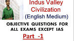 indus Valley Civilization Objective Questions