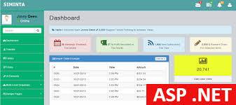 Aspx Templates Free Download Free Asp Net Admin Template Siminta Mini