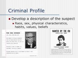 forensic psychology ppt video online 26 criminal profile