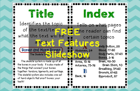 Text Features Engaging Activities Teaching Made Practical