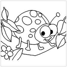 More than 600 free online coloring pages for kids: Insects Free Printable Coloring Pages For Kids