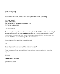 Sample Letter For Cancellation Of Exam Ameliasdesalto Com