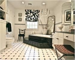black and white tile floor. Black White Tile Bathroom Floors Magazine Floor And