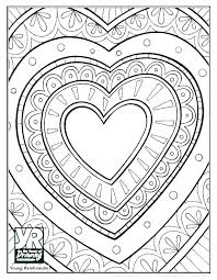 Coloring Pagesof A Heart