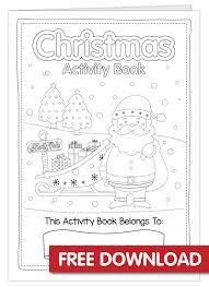 Free Christmas Activity Book Printable Bright Star Kids
