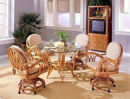 wicker dining table and chairs indoor wicker dining room sets wicker dining room table chairs