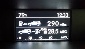 Avg Gas Mileage Should You Trust Your Cars Mpg Display Bestride