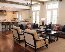 Open Kitchen Living Room How To Efficiently Arrange The Furniture In A Small Living Room