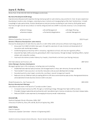 Director Of Development Resumes Director Of Business Development Resume Templates At