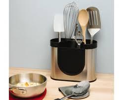 simplehuman  stainless steel utensil holder