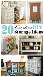 diy storage furniture. Creative DIY Storage Ideas- Mostly Upcycled And Repurposed Ideas...my Favorite! Diy Furniture I