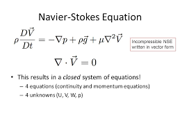 11 navier stokes equation