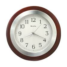 decorative solid wood 14 wall clock