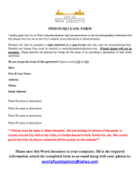 27 Printable Free Photo Release Form Templates Fillable Samples In