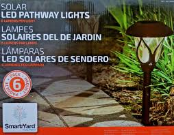 Smartyard Small Led Pathway Lights 6 Pack