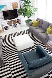 black and white rug ikea. classic ikea black and white striped rug