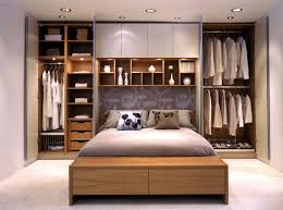 image of creative in small bedroom storage ideas