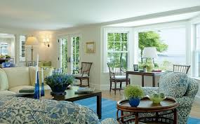 Decorating Ideas: Nature Inspired Living Room : Green And Blue Living Room  Design Idea