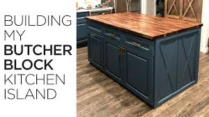 building my kitchen island 30