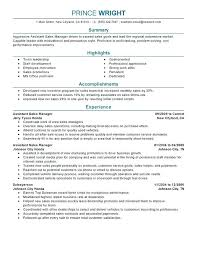Sample Car Salesman Resumes Car Sales Resume Car Sales Resume Sample Assistant Manager Resume
