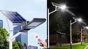 Đèn đường Led năng lượng mặt trời( 90W) siêu bền, siêu sáng