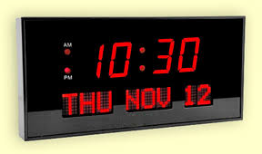 digital office wall clocks. led digital clock with date and time office wall clocks d