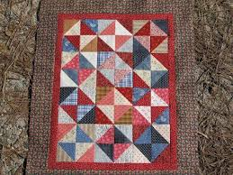 45 best Broken Dishes QUILTS images on Pinterest   Block quilt ... & I just wanted to share a quick pic of my little Broken Dishes quilt. This  little quilt finishes at Kathleen Tracy, author of Prairie. Adamdwight.com