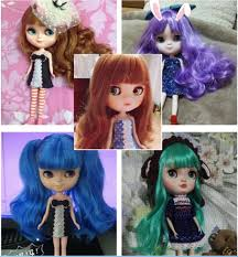 icy doll the same as blyth doll with makeup lower suitable for making up for her by baby doll doll clothes for 15 inch dolls clothes for baby