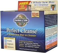 garden of life perfect cleanse kit 1 kit building and sports supplements