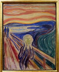 edvard munch s painting the scream is displayed in the munch museum