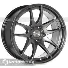 Avid1 wheels av32 17x9 hyper black rims