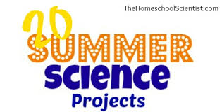 science fair headings printable summer science projects the homeschool scientist