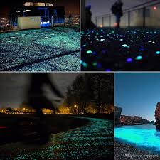 2019 glow in the dark garden pebbles stones for yard and walkways decor diy decorative luminous stones rocks for fish tank walkways garden path from