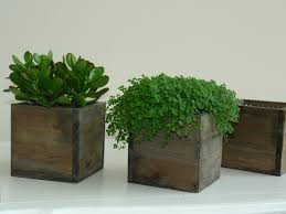 wood box wood boxes woodland planter flower rustic by aniamelisa view larger