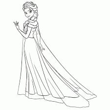 20 Idee Kleurplaat Elsa Frozen Win Charles