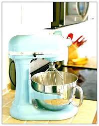 aqua kitchenaid mixer hand mixer ice blue