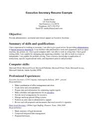 sample resume for bookkeeper out experience cipanewsletter executive secretary resume sample templates for us executive x