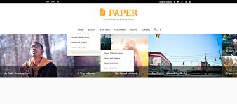 Paper is a stunning blog PSD template, specifically designed for writers.  With this template, displaying and arranging your pieces of work on your  blog ...