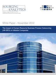 White Paper - The Impact of Human Resource Business Process ...