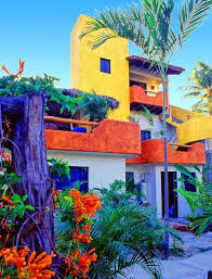 Cottage, Sayulita Mexico Love the Colors