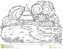 Forest Coloring Page Forest Coloring Page Printable Forest ...