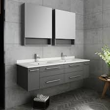 modern wall mount bathroom vanity
