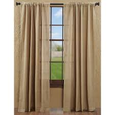 our best ing curtain the burlap natural panels are a great option for country